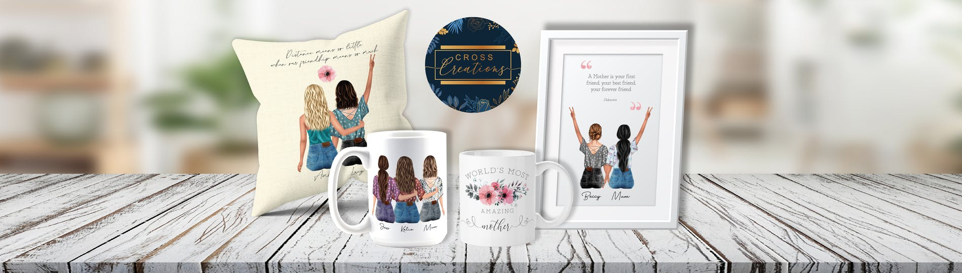 Personalised Gifts & Personalised Presents from Cross Creations