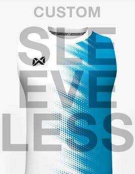 Sleeveless, C neck, Running