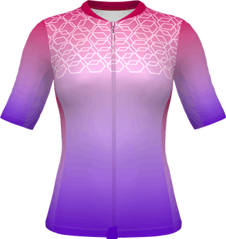 Women's Cycling Top Inset Sleeve