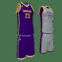 Reverse Basketball Uniform