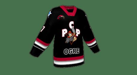 PCP Men's Dark Ice Hockey Jersey