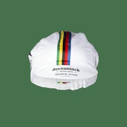 Prévente! Deceuninck Quick-Step 2021 Champion du monde Bonnet d'été en coton
