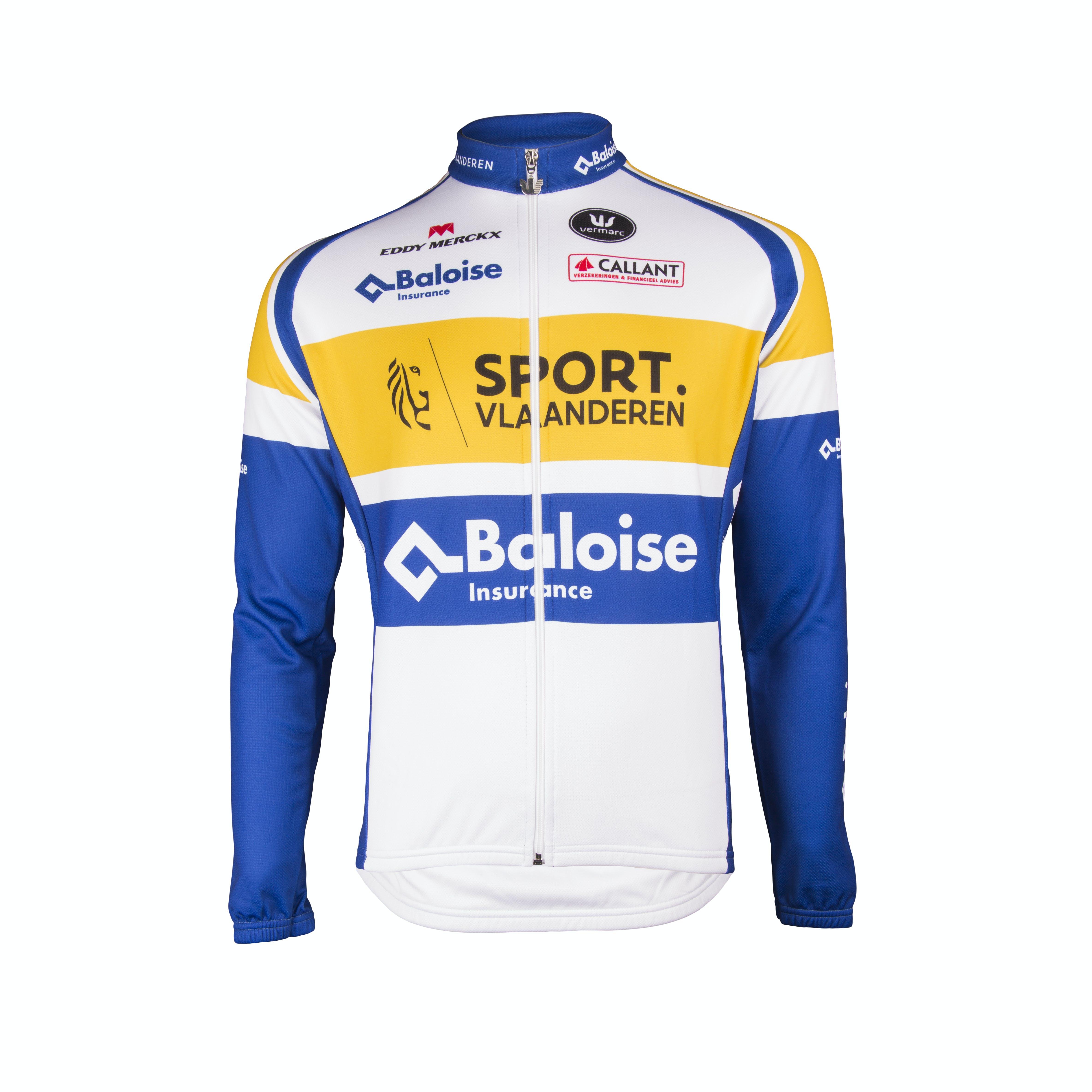 Sport Vlaanderen Baloise 2018 Jersey Long Sleeves