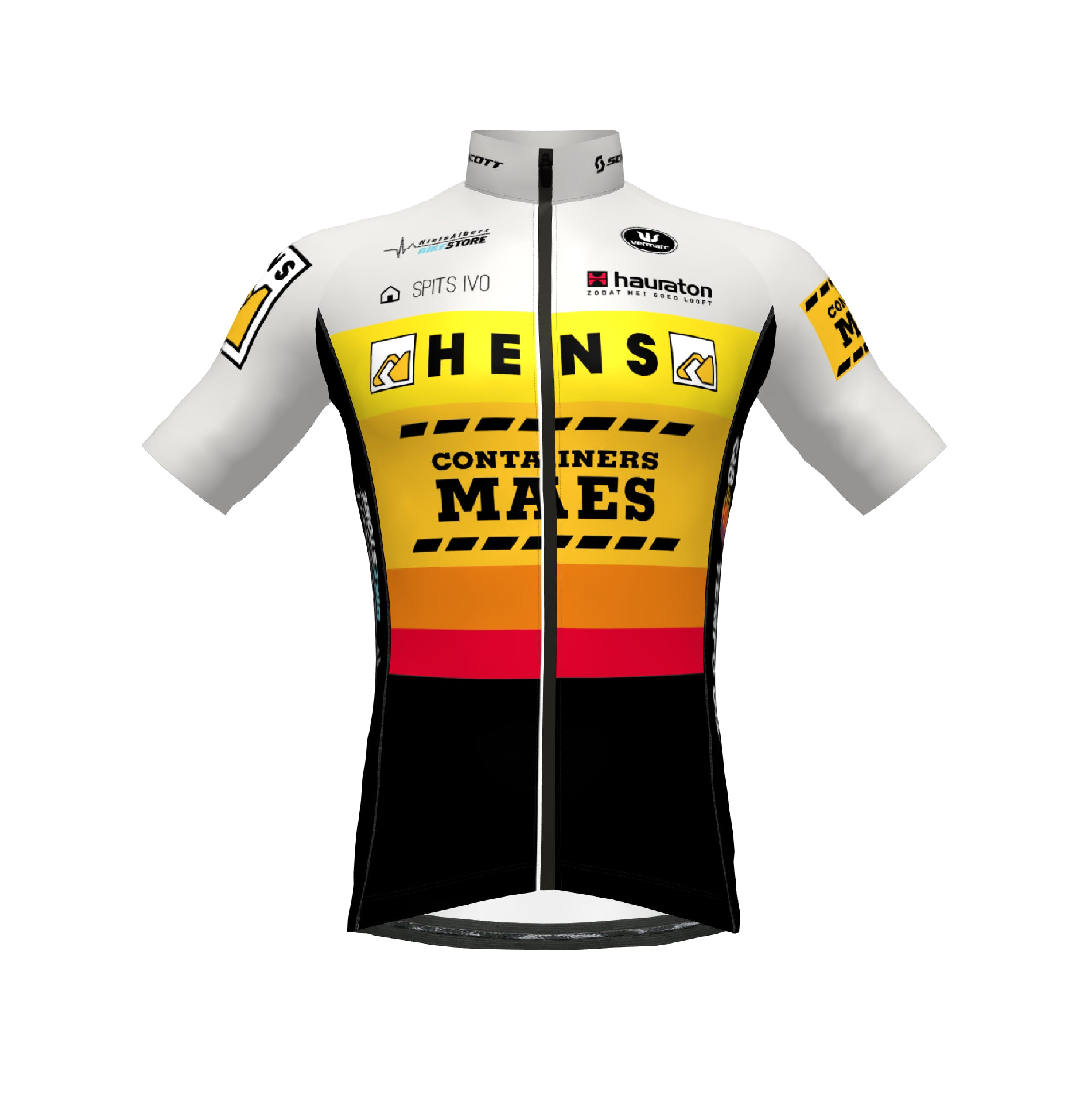 Hens Maes 2021 Maillot Manches Courtes SP.L Aero