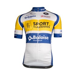 Sport Vlaanderen Baloise 2019 Jersey Short Sleeves aero