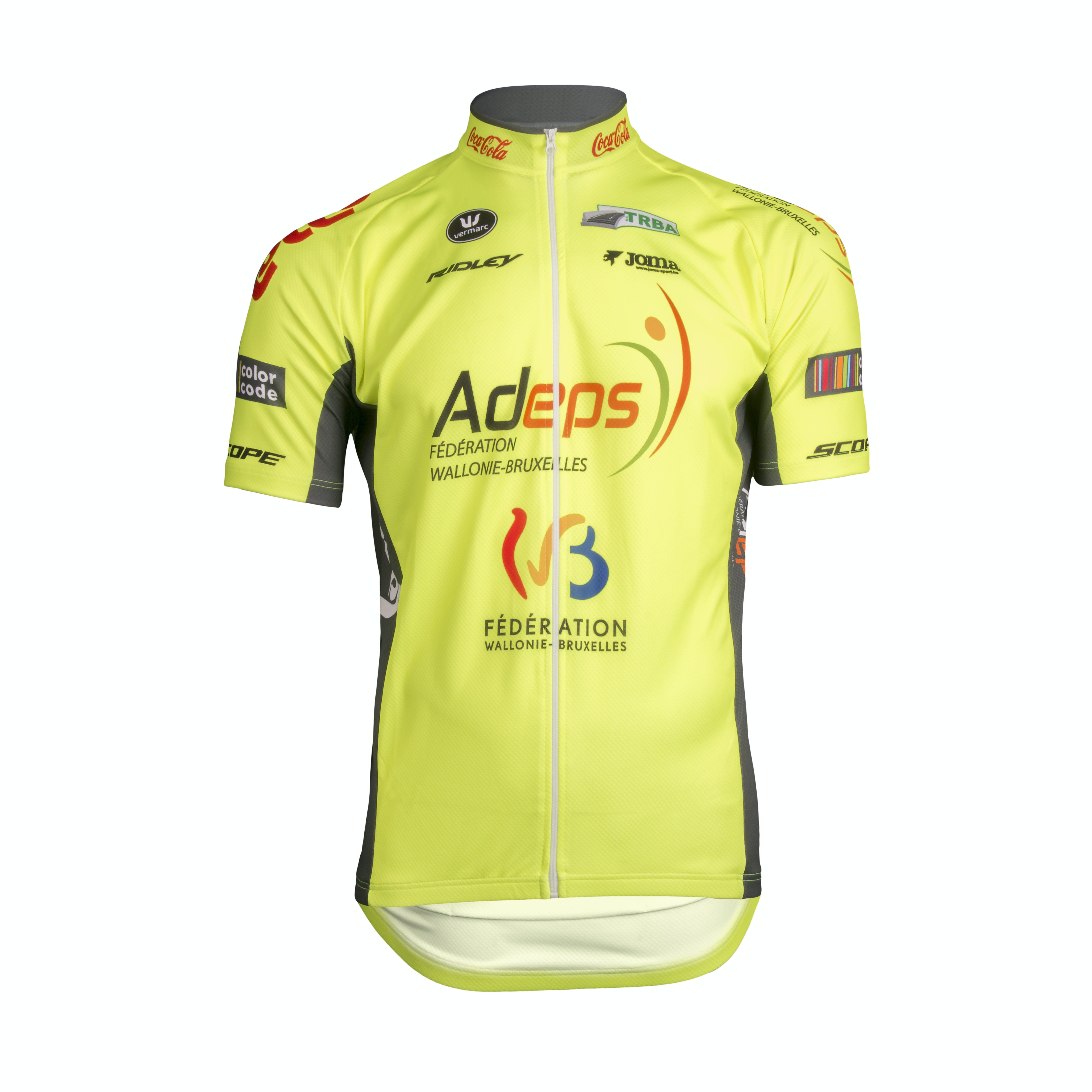 Wallonie Bruxelles 2019 Maillot Manches Courtes Aero