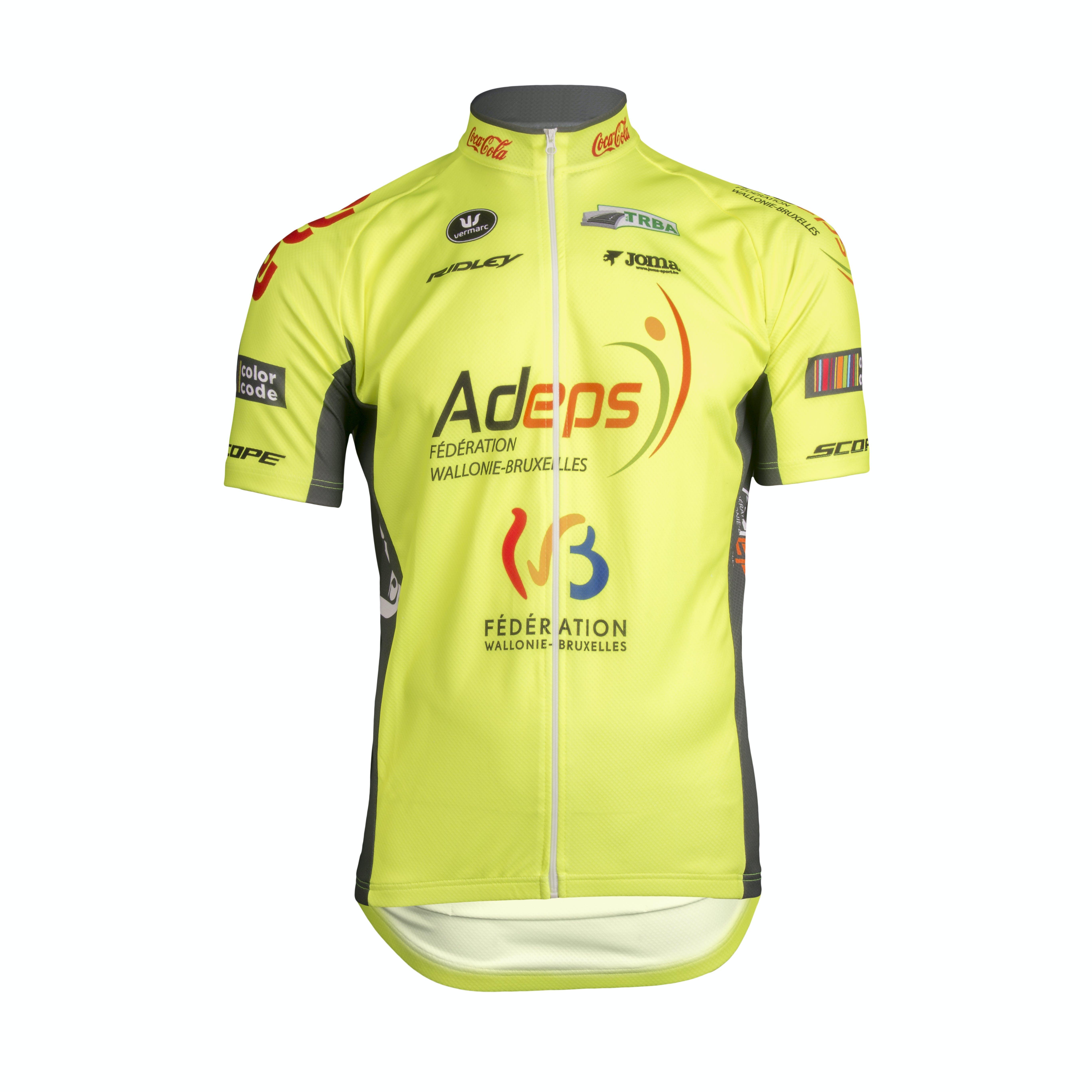 Wallonie Bruxelles 2019 Jersey Short Sleeves Aero