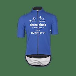 Deceuninck Quick-Step 2021 Zero Aqua Korte Mouwen