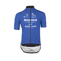 Deceuninck Quick-Step 2021 Zero Aqua Maillot Manches Courtes