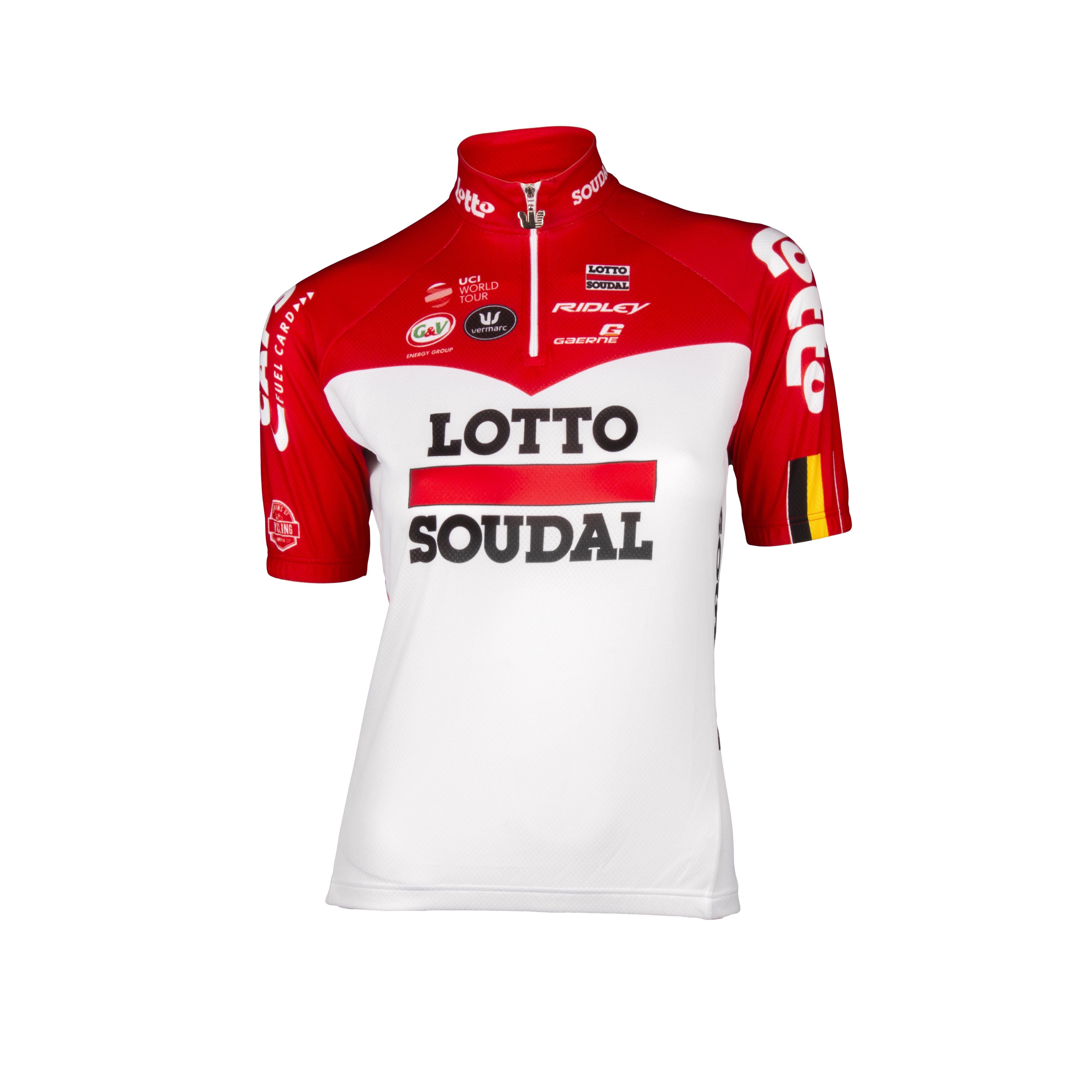 Lotto Soudal 2018 Jersey Short Sleeves Kids