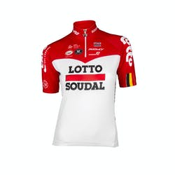 Lotto Soudal 2018 Jersey Short Sleeves Kids