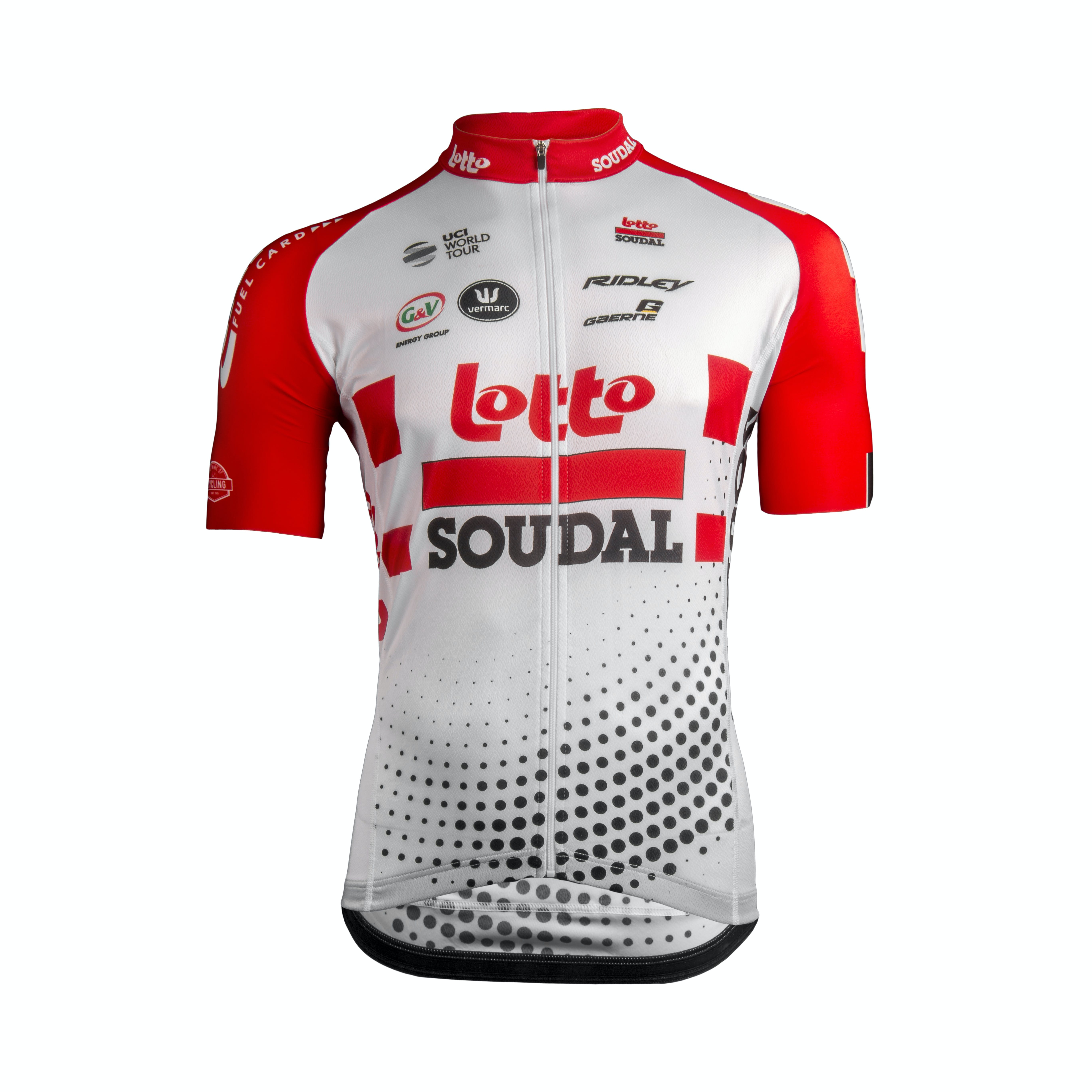 Lotto Soudal 2019 Shirt Maillot Manches Courtes AERO