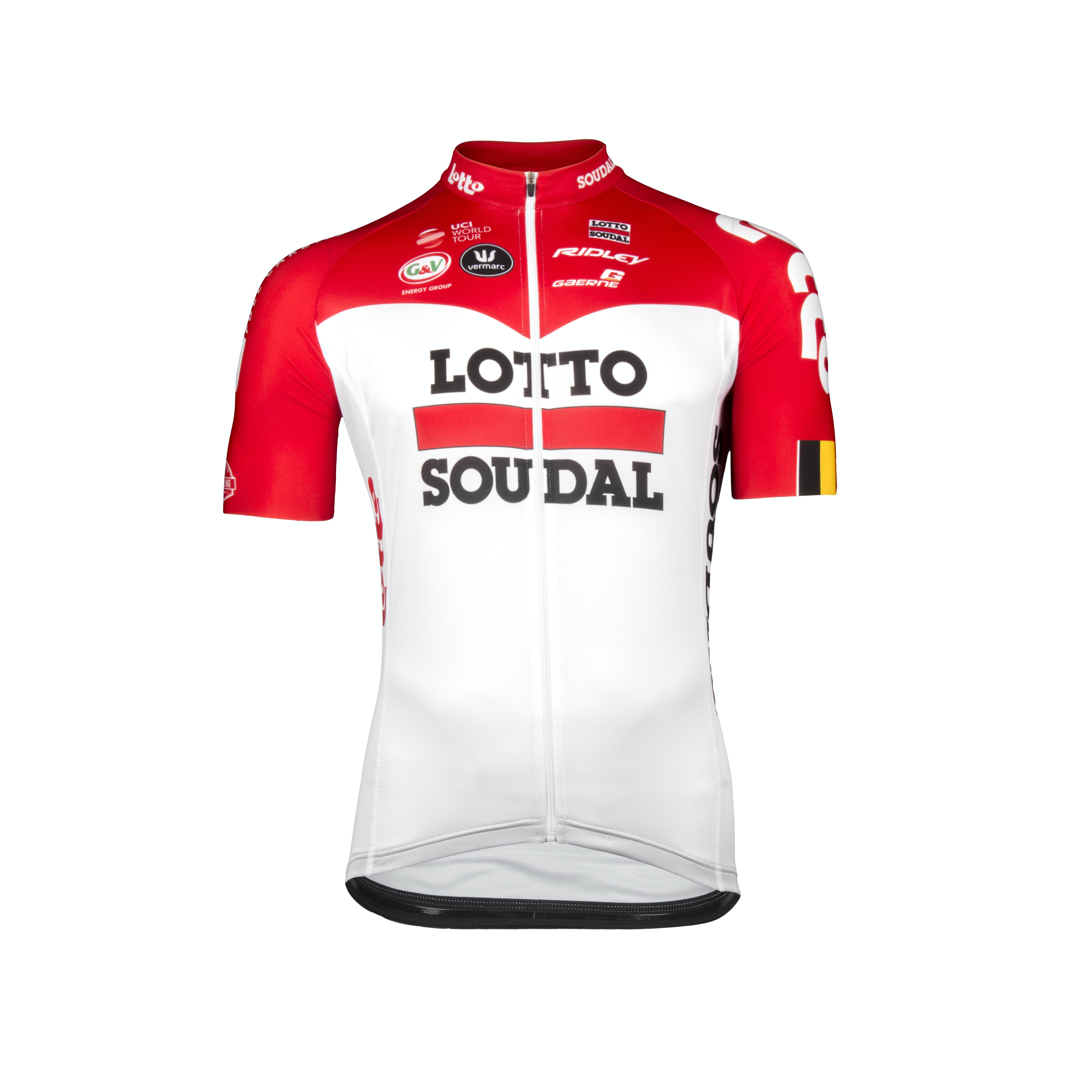 Lotto Soudal 2018 Trui Korte Mouwen Aero