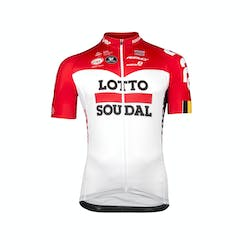 Lotto Soudal 2018 Jersey Short Sleeves Aero