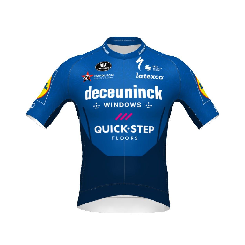 Voorverkoop! Deceuninck Quick-Step 2021 Jersey Korte Mouwen PR.R