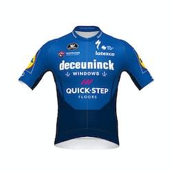 Deceuninck Quick-Step 2021 Jersey Korte Mouwen PR.R