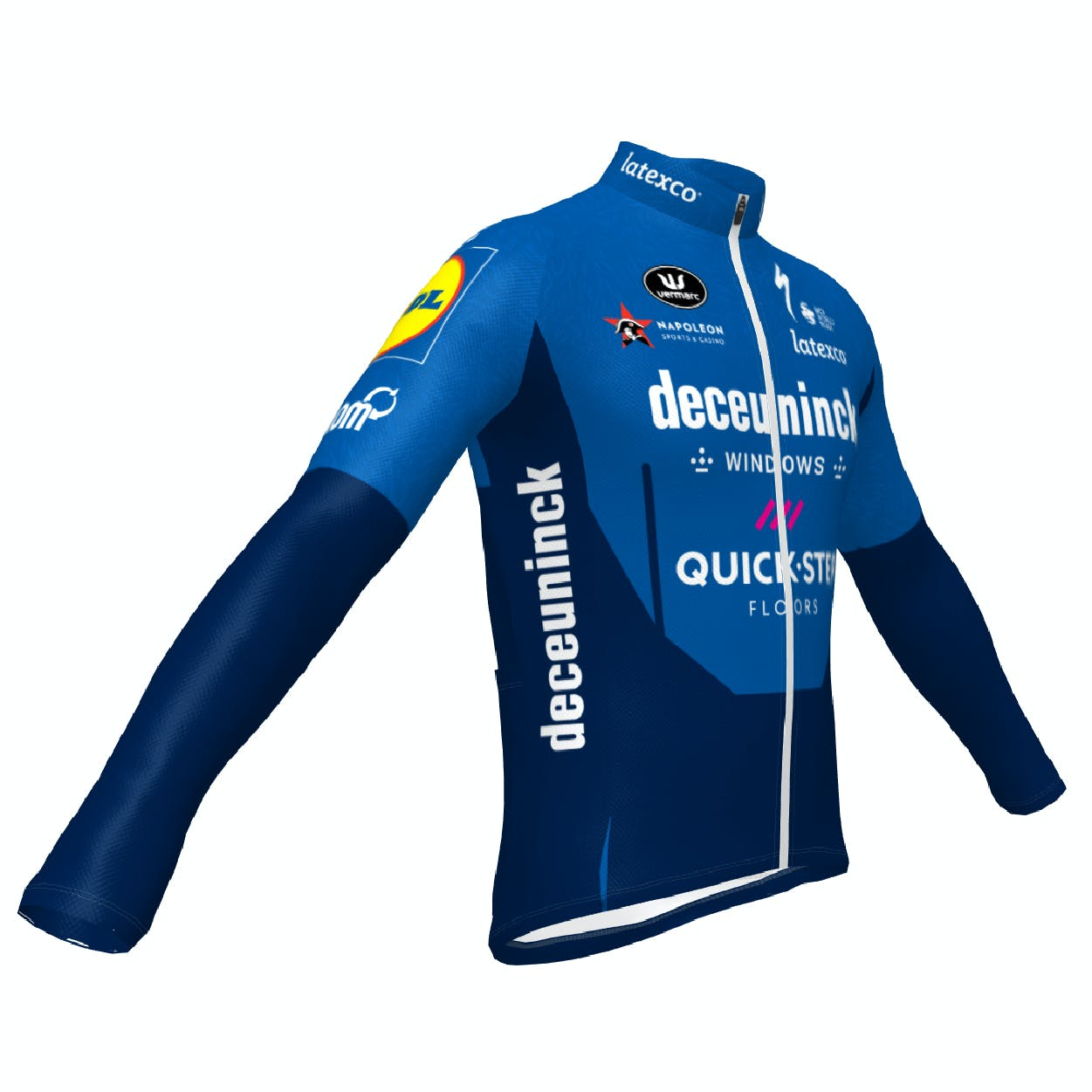 Pre-Sale! Deceuninck Quick-Step 2021 Jersey Long Sleeves ES.L Thermosquare