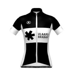 Prov. Vlaams-Brabant - Maillot Manches Courtes SP.L Aero Noir Dames