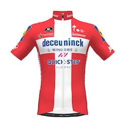 PRévente! Deceuninck Quick-Step 2021 Champion Danmark Maillot Manches Courtes Aero SP.L