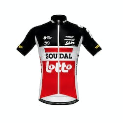 Soudal Lotto 2020 Jersey Short Sleeves Aero