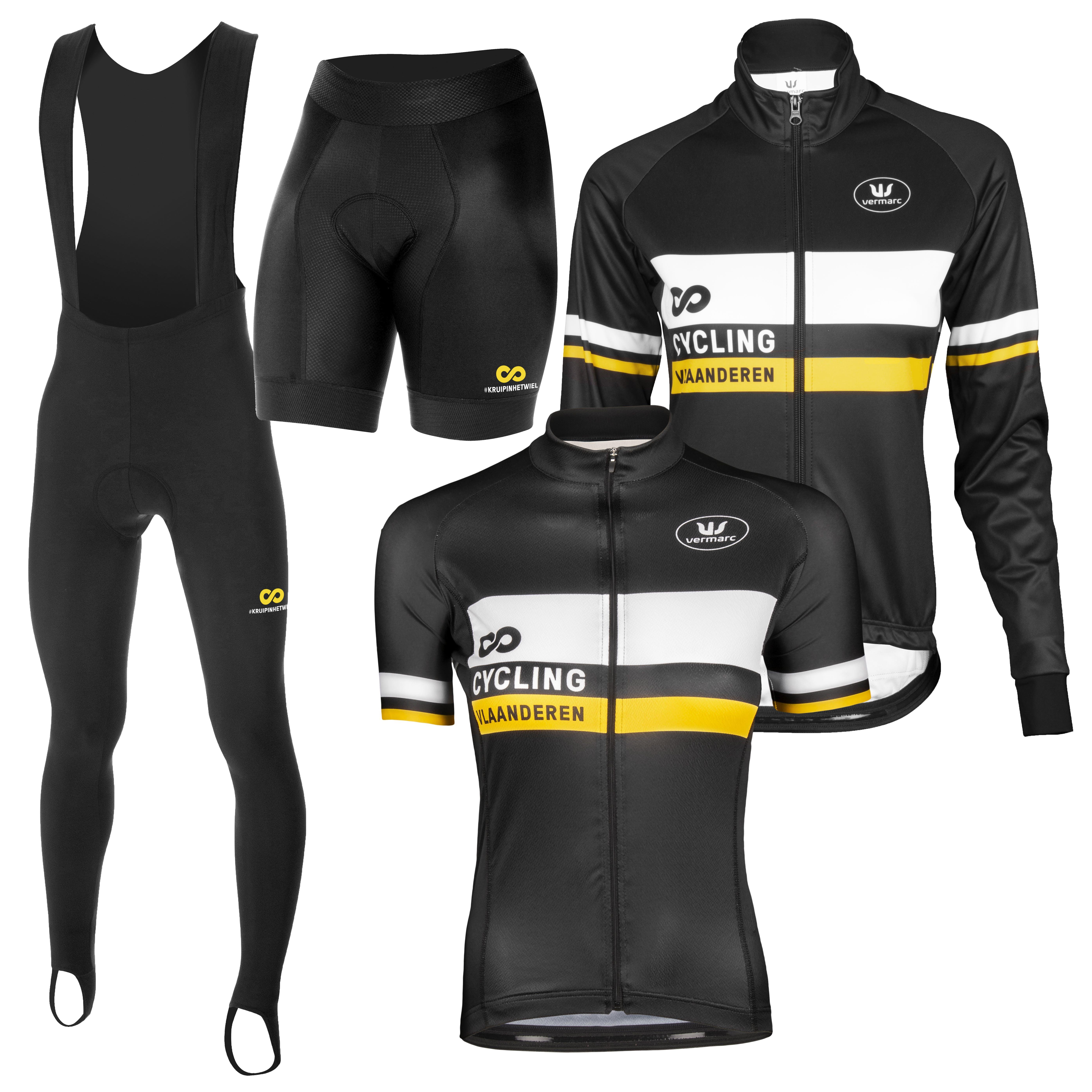 Cycling Vlaanderen Paquet Ete + Hiver femmes