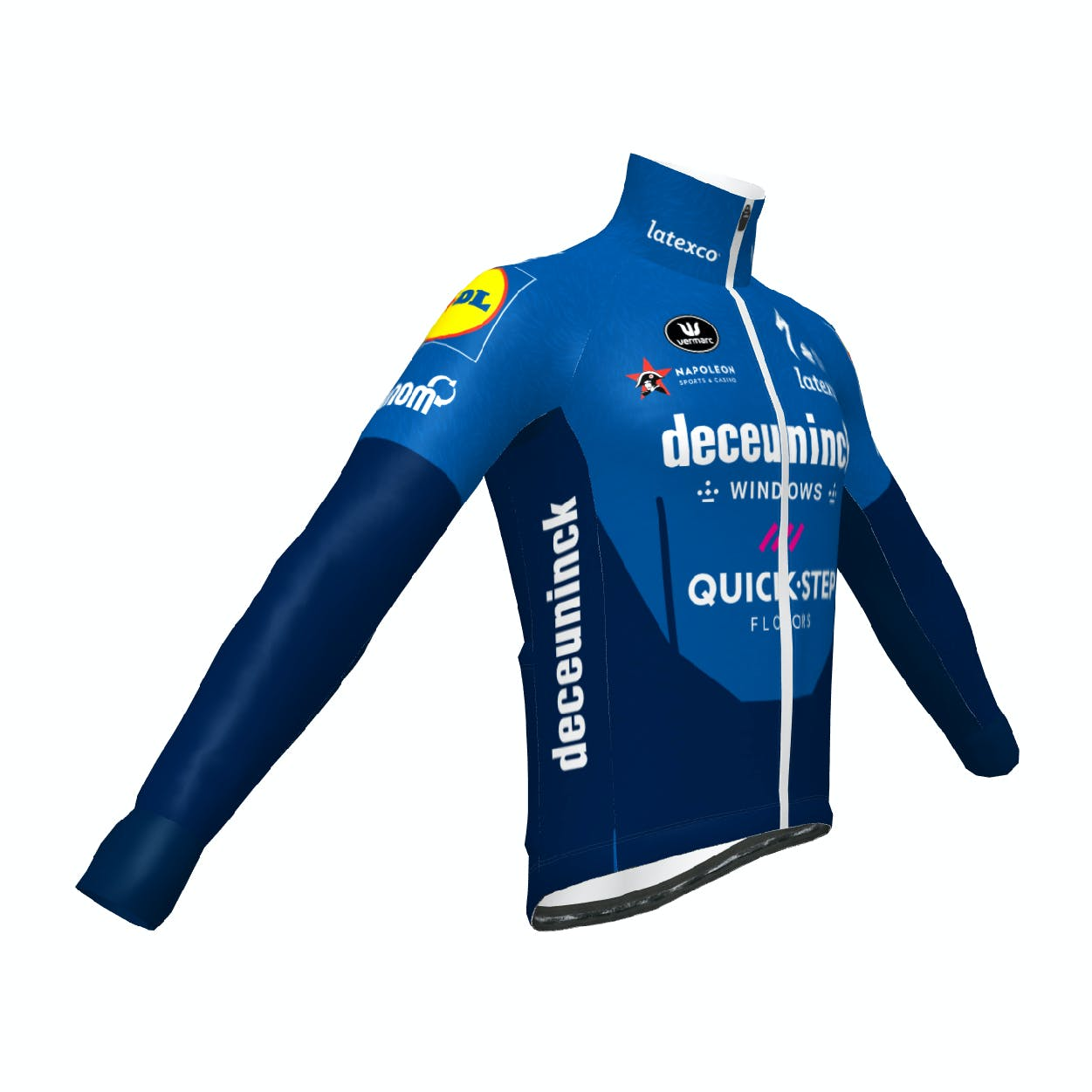 Pre-Sale! Deceuninck Quick-Step 2021 Technical Vest
