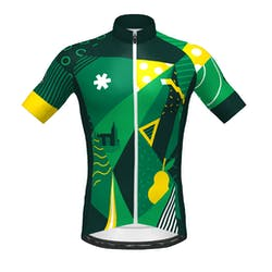 Prov. Vlaams-Brabant - Maillot Manches Courtes SP.L Aero Green Hommes