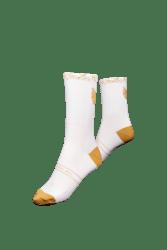 The Wolfpack 2021 socks White