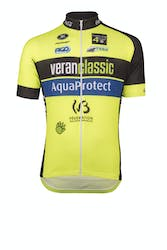 Wallonie Bruxelles  2017 Jersey Short Sleeves Lange Rits