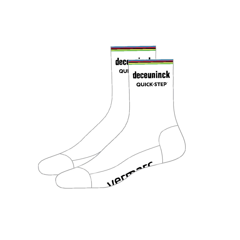 Pre-sale! Deceuninck Quick-Step 2021 World champion Socks