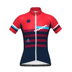 Prov. Vlaams-Brabant - Maillot Manches Courtes SP.L Aero Rood Dames