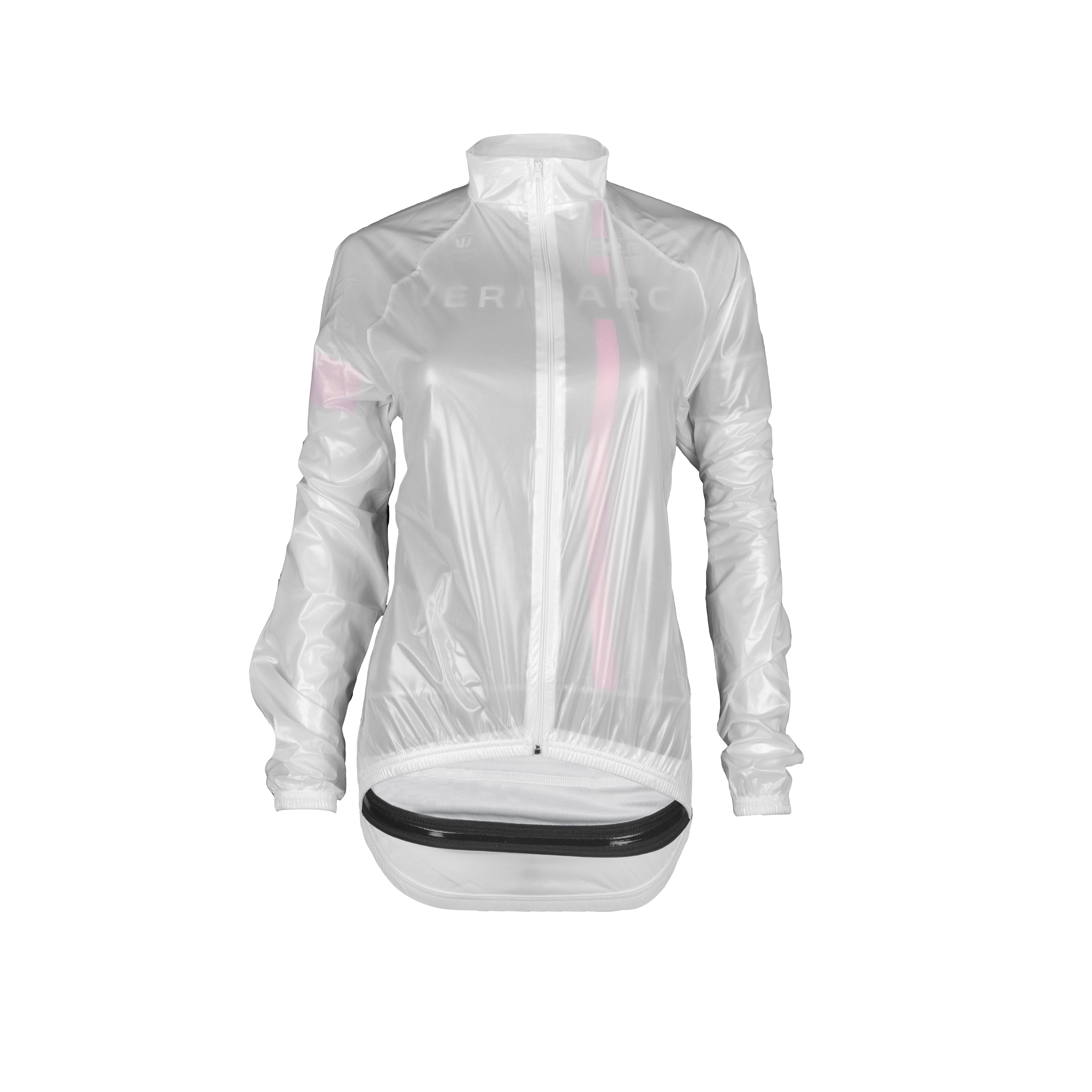 Rainjacket Long Sleeves Transparent Women