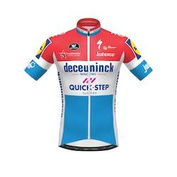 Deceuninck Quick-Step 2020 Champion Luxemburg Jersey Short Sleeves Aero SP.L