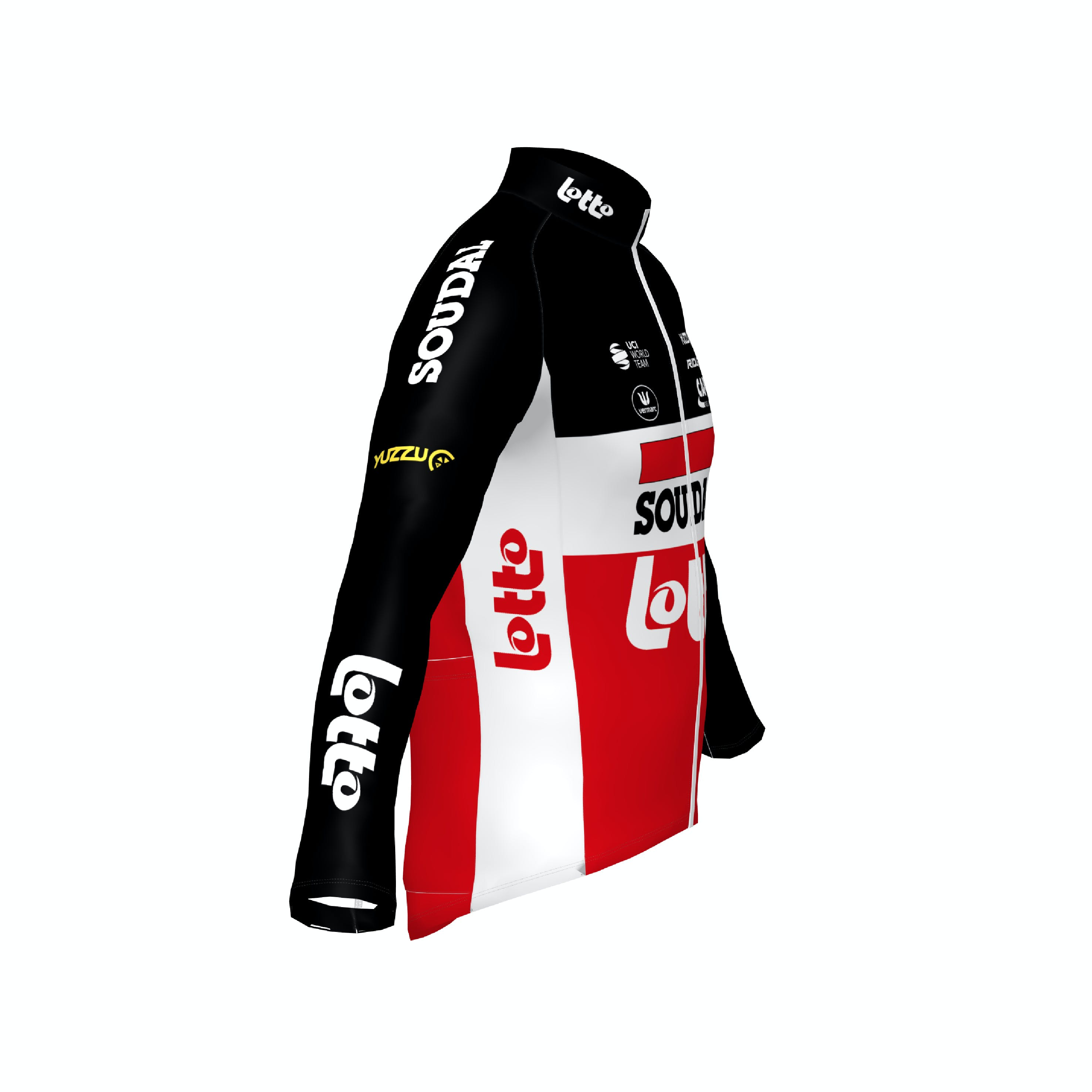 Soudal Lotto 2021 Jersey Long Sleeves Kids