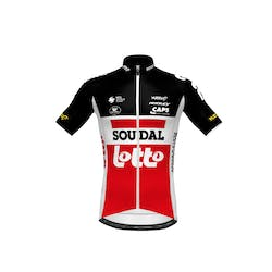 Soudal Lotto 2021 Jersey Short Sleeves Kids SP.L Aero