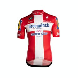Deceuninck Quick-Step 2019 Champion Denmark Jersey Short Sleeves Aero