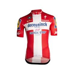 Deceuninck Quick-Step Champion Denmark Jersey Short Sleeves Aero