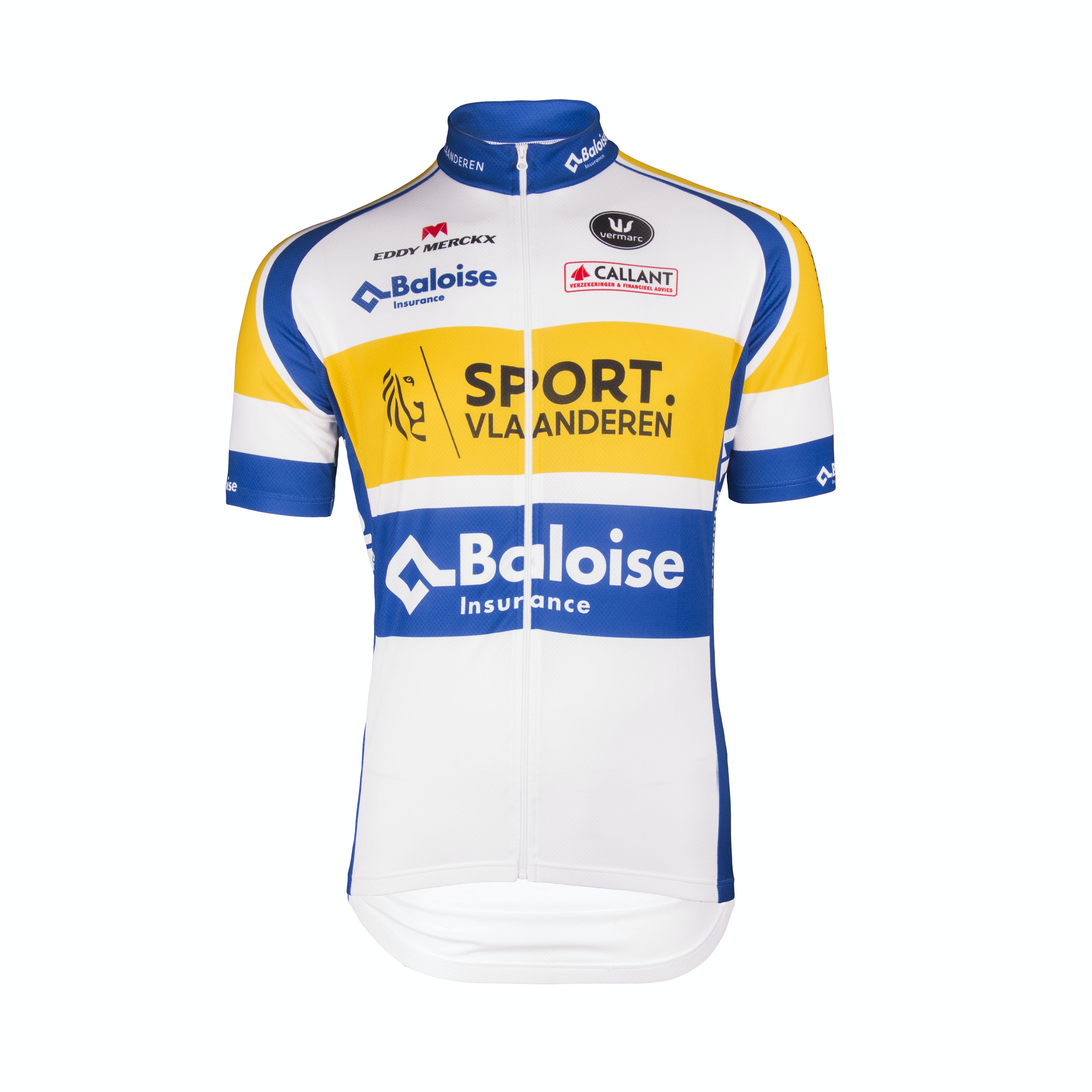 Sport Vlaanderen Baloise 2018 trui korte mouwen