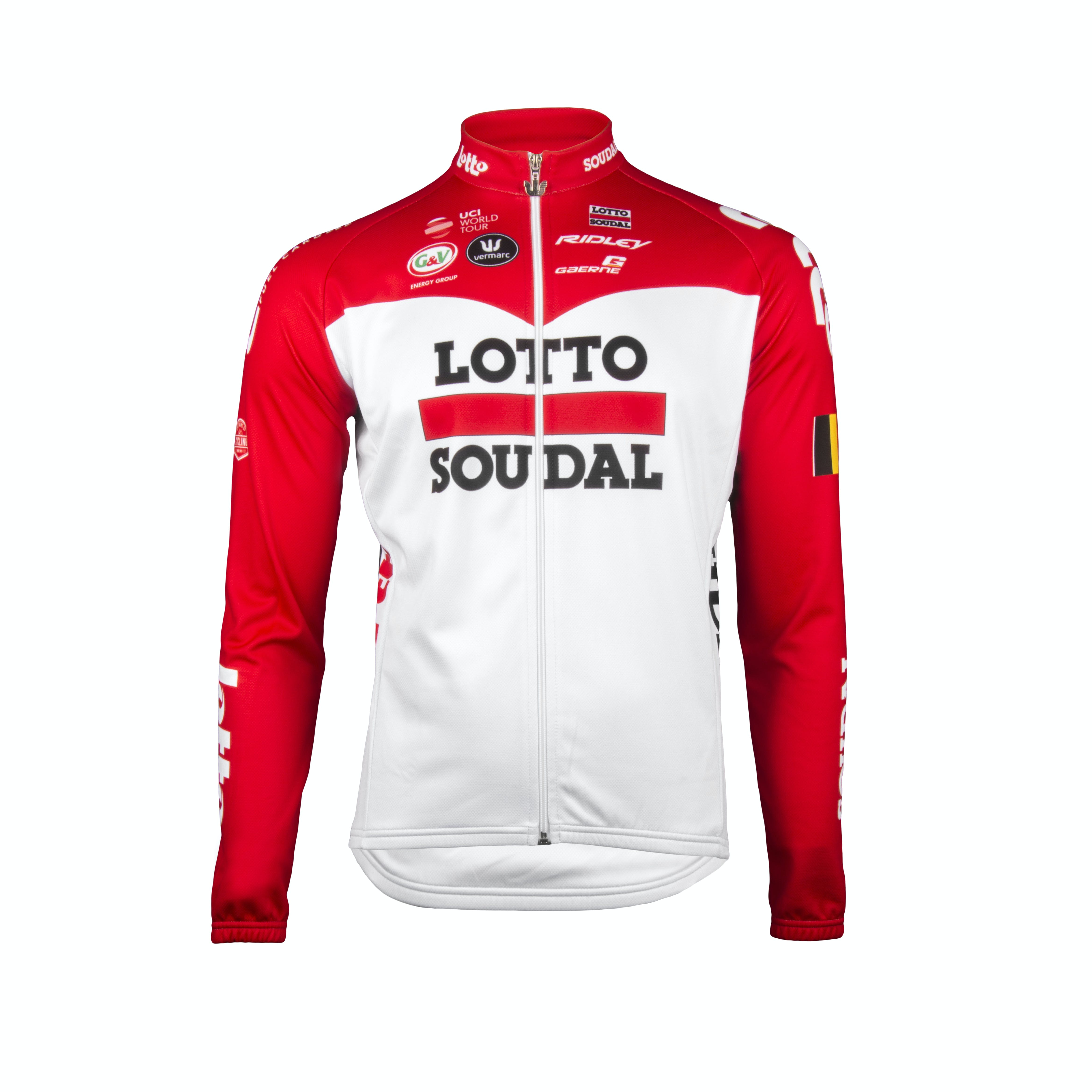 Lotto Soudal 2018 Jersey Long Sleeves Kids