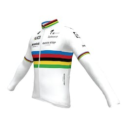 Deceuninck Quick-Step 2021 World Champion Jersey Long Sleeves ES.L Thermosquare