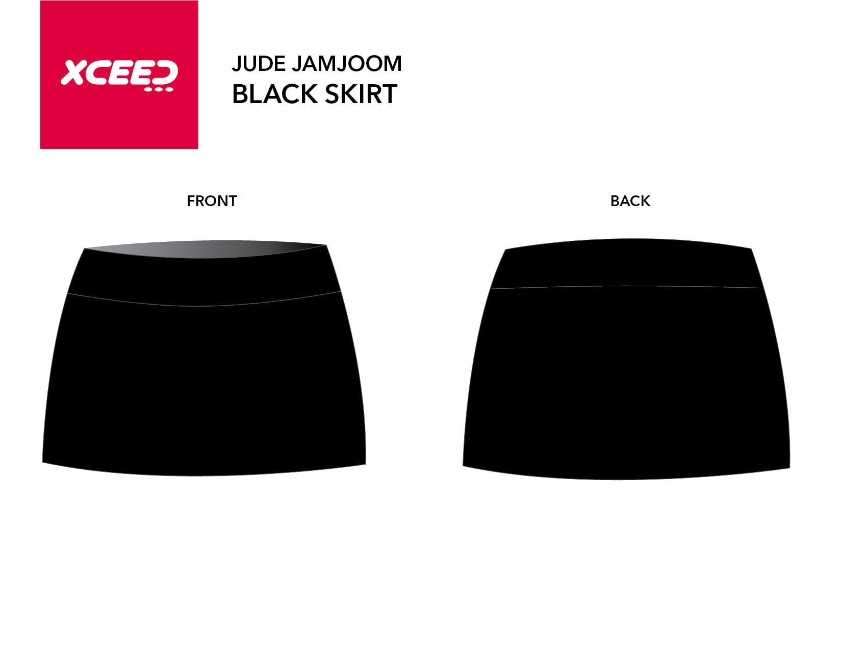 Black skirt Jude Jamjoom (COPY)