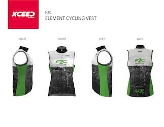 F2C Cycling vest