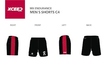 Running Shorts w/ Rear Zip Pocket