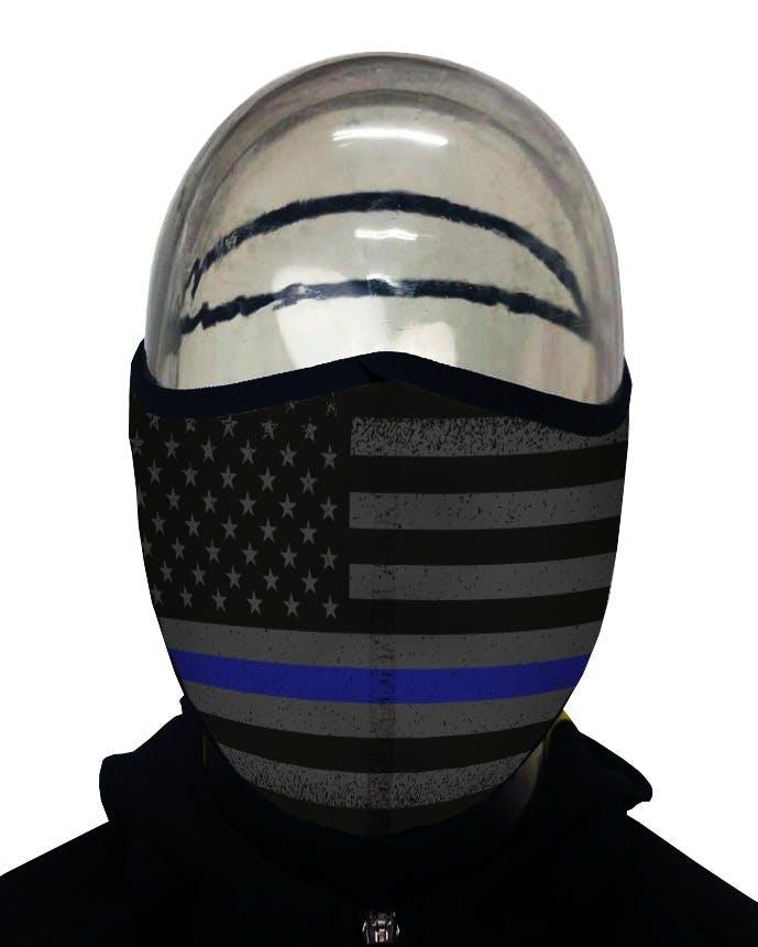 Mask Thin Blue Line