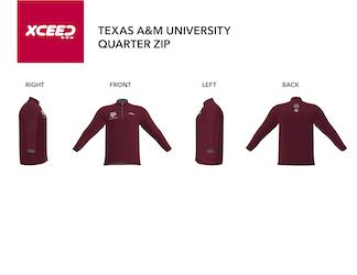 Quarter Zip -- Texas A&M