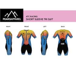 Short Sleeve Tri Suit