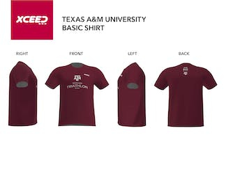 Combed Cotton T-shirt - Texas A&M