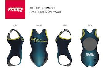 All Tri Performance - Racer Back Swimsuit
