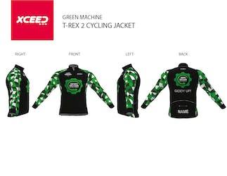 GRN MCHN- T-Rex 2 Cycling Jacket