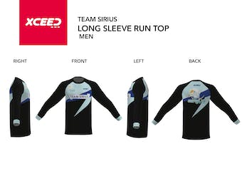 Team Sirius- Long Sleeve Run Top